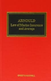 Arnould's Law of Marine Insurance and Average