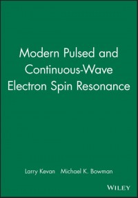 Modern Pulsed and Continuous-Wave Electron Spin Resonance