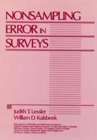Nonsampling Error in Surveys