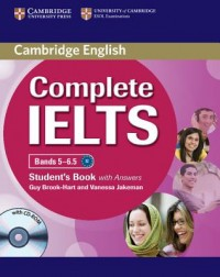 Complete IELTS Bands 5-6.5 Student's Book with Answers [With CDROM]