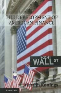 Development of American Finance
