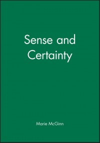 Sense and Certainty
