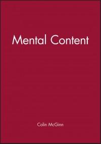 Mental Content