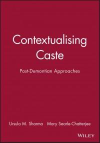 Contextualising Caste