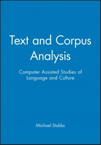 Text and Corpus Analysis