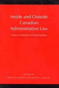Inside and Outside Canadian Administrative Law