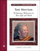 Critical Companion to Toni Morrison