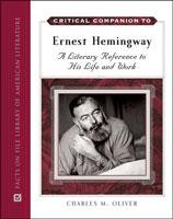 Critical Companion to Ernest Hemingway