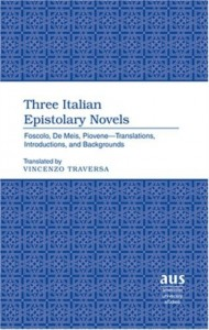 Three Italian Epistolary Novels
