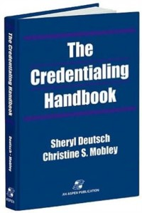 The Credentialing Handbook