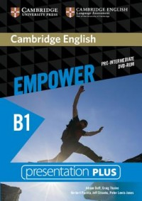 Cambridge English Empower Pre-Intermediate Presentation Plus (with Student's Book) [With DVD ROM]