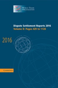Dispute Settlement Reports 2016: Volume 2, Pages 429-1128