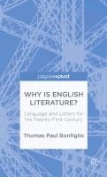 Why Is English Literature?