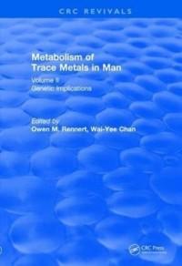 Revival: Metabolism of Trace Metals in Man Vol. II (1984)