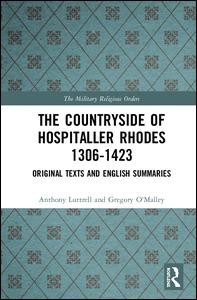 The Countryside Of Hospitaller Rhodes 1306-1423