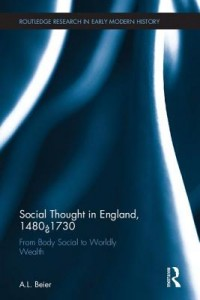 Social Thought in England, 1480-1730