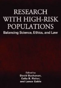 Research With High-Risk Populations