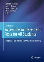 Handbook of Accessible Achievement Tests for All Students