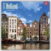 Holland - Niederlande  2017 - 18-Monatskalender mit freier TravelDays-App