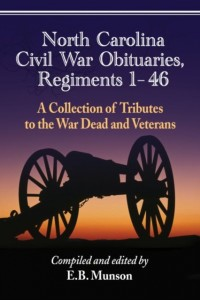 North Carolina Civil War Obituaries, Regiments 1 Through 46