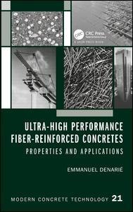 Ultra-high Performance Fiber-reinforced Concretes