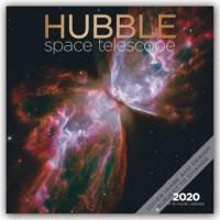 Hubble Space Telescope - Hubble-Weltraumteleskop 2020 - 16-Monatskalender
