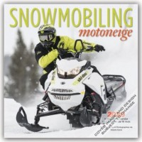 Snowmobiling - Schneemobile 2020 - 16-Monatskalender