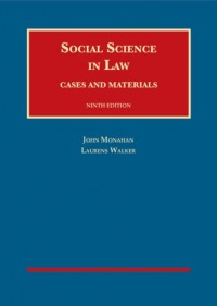 Social Science in Law, Cases and Materials