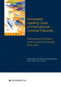 Annotated Leading Cases of International Criminal Tribunals 60