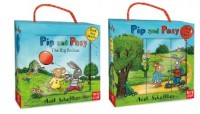 Scheffler, A: Pip and Posy Book and Blocks Set