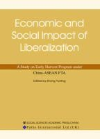 Economic and Social Impact of Liberalization