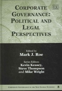 Corporate Governance: Political and Legal Perspectives