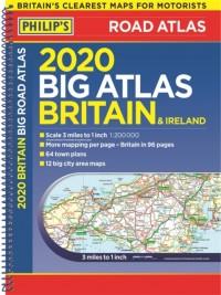 2020 Philip's Big Road Atlas Britain and Ireland