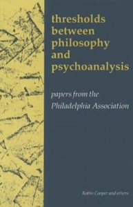 Thresholds Between Philosphy and Psychoanalysis