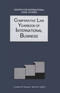 Comparative Law Yearbook of International Business