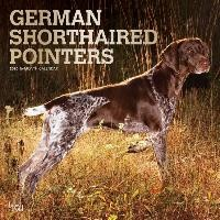 German Shorthaired Pointers - Deutsch Kurzhaar 2020 - 18-Monatskalender mit freier DogDays-App