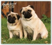 Pugs - For the Love of - Möpse 2020 - 18-Monatskalender mit freier DogDays-App