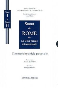 Statut de Rome de La Cour Pénale Internationale