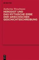 """Mythische Erzählstrukturen in Herodots """"Historien"""""""