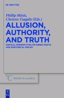 Allusion, Authority, and Truth