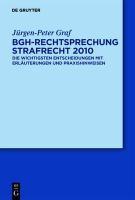 BGH-Rechtsprechung Strafrecht 2010