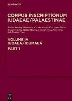 Iudaea / Idumaea Vol 1