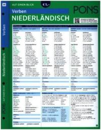PONS Verben auf einen Blick Niederländisch