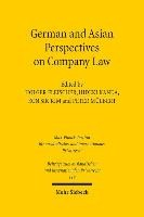 German and Asian Perspectives on Company Law