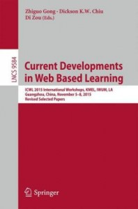 Current Developments in Web Based Learning