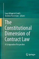 The Constitutional Dimension of Contract Law