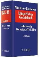 Münchener Kommentar zum Bürgerlichen Gesetzbuch (7. A.)  Bd. 5/1: Schuldrecht Besonderer Teil III/1
