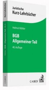 BGB Allgemeiner Teil
