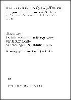 Akten des IV. Internationalen Kongresses für Hethitologie Würzburg, 4.-8. Oktober 1999