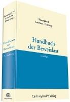 Handbuch der Beweislast. Grundlagenband